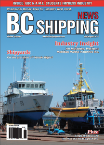 UBC NAME featured in BC Shipping News!