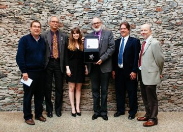Naval Architecture & Marine Engineering program wins Peter Larkin Award
