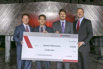 Seaspan announces $2 million investment in UBC NAME program